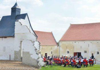 Inauguration de la ferme de Hougoumont - Vincent Scourneau