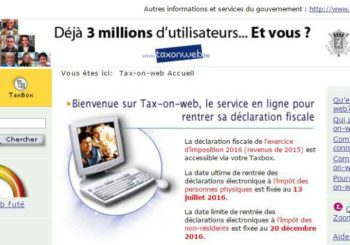 Déclaration fiscale simplifiée - Tax-on-web - Vincent Scourneau