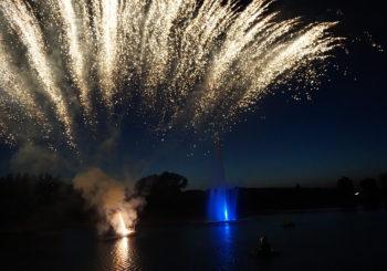 Inauguration du Lac du Paradis
