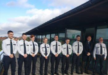 Prestation de serment de 7 nouveaux inspecteurs